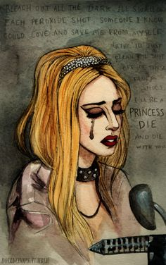 I'll be a Princess Die and die with you <3. Cannot get over Gaga's unreleased song about Lady Di.