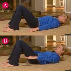 If you're having a tough time trying to get rid of your baby belly, you may suffer from diastasis recti, but these exercises can help.