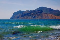 Quiet Bay, Crimea, near Koktebel - View for Quiet Bay, Crimea, near Koktebel.