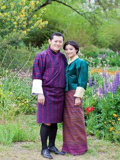 King and Queen of Bhutan