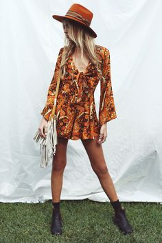Music Festival Dress Boho Style 42 Ideas For 2019 Best Picture For Music Festival outfit For Your Taste You are looking for something, and it is going to tell you exactly what you are looking for, and Festival Hippie, Festival Looks, Summer Festival Style, Festival Coachella, Music Festival Outfits, Music Festival Fashion, Festival Dress, Festival Clothing, Rave Clothing