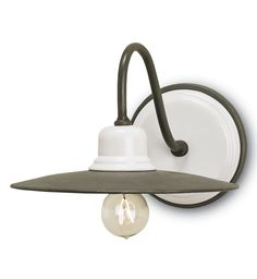 Currey & Company - 5154 - Eastleigh 1 Light Wall Sconce with Hiroshi…