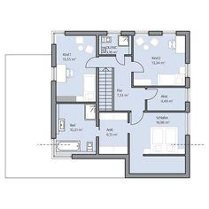 Haus Dietz – Obergeschoss