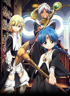 Magi:The Labyrinth Of Magic