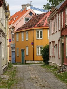 Norway - the streets of Trondheim