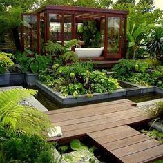 40 Amazing Bathroom Designs That Fused with Nature DesignRulz.com