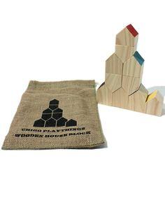 Chigo Playthings | House Blocks