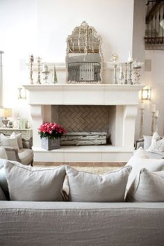 Private Residence - traditional - living room - salt lake city - Alice Lane Home Collection