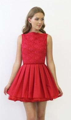 Jones and Jones Audrey Red Dress