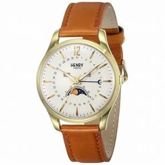 Passionate about elegance with Henry London Unisex Westminster Watch London Watch, Opaline, Watch Case, Westminster, Quartz Watch, Tan Leather, Best Gifts, Unisex, Trends