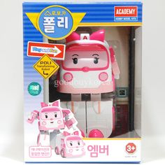 Robocar Poli - Transforming Robots (Amber, Ambulance) Korea TV Animation Toy in Toys & Hobbies | eBay