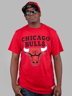 Mitchell & Ness Chicago Bulls Standtail Scarlet