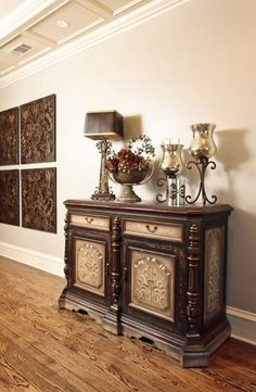 FURNITURE AND ACCESSORIES ◆LOVE this piece...esp for an entryway - Cass◆