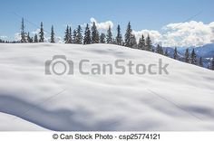 #Winter #Scenery #Trees #Snow #Blue #Sky @canstockphoto #canstockphoto #season #Carinthia #Austria #ktr15 #nature #landscape #outdoor #sport #active #view #mountains #vacation #holiday #skiing #hiking