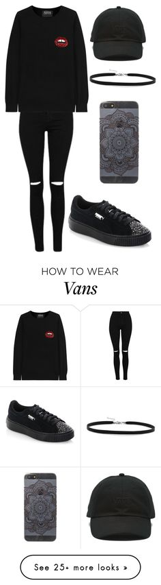 """""""Outfit"""" by andreeadeeix12 on Polyvore featuring Markus Lupfer, Puma, Vans and BillyTheTree"""