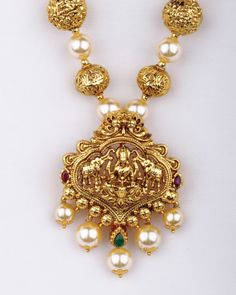 Pearl temple jewellery                                                       …