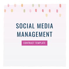 116 best contract templates images on pinterest online business grab our social media manager contract template to legally cheaphphosting Choice Image