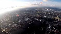 Navy Seal 'Leap Frogs' Make Boston 4th Of July Skydive 4th of July  #4thofJuly