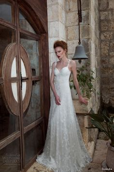 tamara 2013 2014 catherine sleeveless lace wedding dress -- Tamara Bridal Wedding Dresses