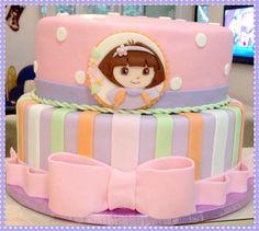 Bolo aniversário Dora the Explorer