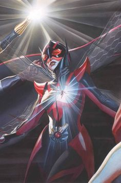 Vespa de Alex Ross - Universo Marvel