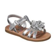 Toddler Girl's Rachel Shoes Fannie Sandal - Silver Quick Information