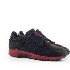 adidas Equipment Guidance 93 Black Burgundy - Where To Buy - Best Sneakers, Adidas Sneakers, Trainers Adidas, Adidas Shoes Outlet, Sneaker Release, Nike Free Shoes, Summer Shoes, Adidas Originals, Burgundy
