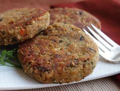 White Bean Patties: More delicate than the average bean burger recipe, moist on…