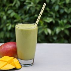 This green smoothie is rich in protein, fiber, and healthy fats, making it the perfect post-workout snack!