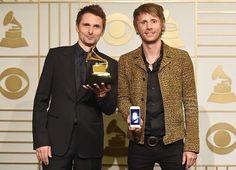 Muse wins Grammy for best rock album, Drones!