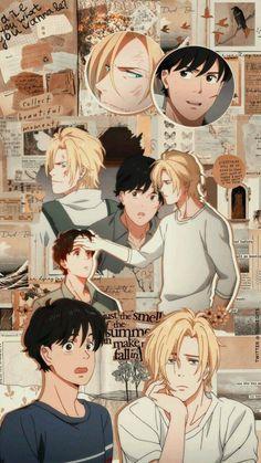 Ash and Eiji Wallpaper