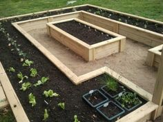 If space is an issue the answer is to use garden boxes. In this article we will show you how all about making raised garden boxes the easy way. We all want to make our gardens look beautiful and more appealing. Elevated Garden Beds, Raised Bed Garden Design, Home Garden Design, Elevated Bed, Garden Box Raised, Garden Bed Layout, Garden Layouts, Cheap Raised Garden Beds, Raised Planter
