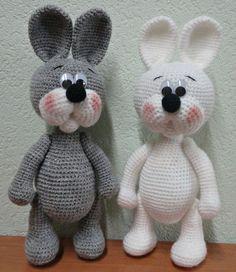 Mesmerizing Crochet an Amigurumi Rabbit Ideas. Lovely Crochet an Amigurumi Rabbit Ideas. Crochet Animal Amigurumi, Crochet Animal Patterns, Amigurumi Doll, Amigurumi Patterns, Crochet Animals, Crochet Dolls, Easter Crochet, Cute Crochet, Diy Crafts Crochet