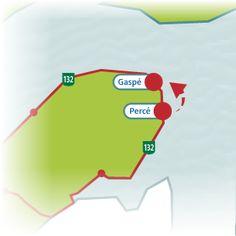 The Gaspésie Tour road trip   Québec maritime