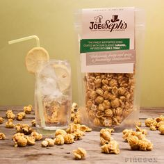 Gin and Tonic Flavored Gourmet Popcorn