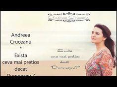 Andreea Cruceanu - DEMO album | Exista ceva mai pretios decat Dumnezeu? | - YouTube Album, Youtube, Blog, Blogging, Youtube Movies, Card Book