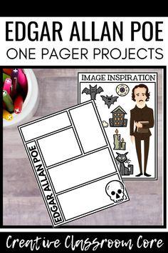 Ninth Grade, Seventh Grade, Teaching Short Stories, Classic Short Stories, School Resources, Teaching Resources, Balanced Literacy, High School Classroom, Edgar Allan Poe