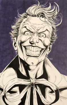 The Joker - Pencil - W.B.