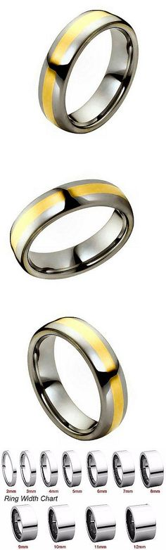 Other Wedding And Anniv Bands 92866 Titanium Black Ti Domed 6mm