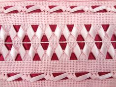Cot Sheets, Different Stitches, Hairpin Lace, Heirloom Sewing, Silk Ribbon Embroidery, Ribbon Crafts, Smocking, Tatting, Knots