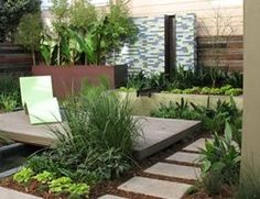 Small Garden Pictures Arterra Landscape Architects San Francisco, CA Landscaping With Rocks, Modern Landscaping, Front Yard Landscaping, Landscaping Ideas, Gravel Landscaping, Florida Landscaping, Small Garden Design, Patio Design, Courtyard Design