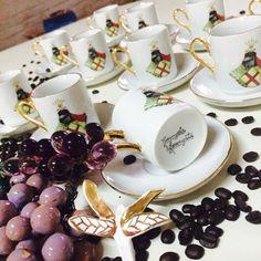 Xícaras para café personalizada de porcelana
