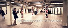BENDING SOUNDS - NYC SUBWAY. Video by Tim Sessler.