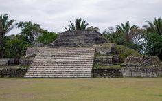 The Mayan Ruins at Altun Ha, Belize