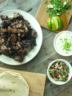 beer braised lamb tacos with chive tzatziki 5