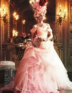 """""""All The Riches A Girl Can Have"""", Giampaolo Sgura, Vogue Japan, October 2012"""