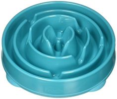 (Large, Teal) - Outward Hound Fun Feeder Dog Bowl Slow Feeder Stop Bloat For French Bulldog Puppies, Dogs And Puppies, French Bulldogs, How To Stop Bloating, The Wild Geese, Slow Feeder, Puppy Training Tips, Dog Games, Dog Store