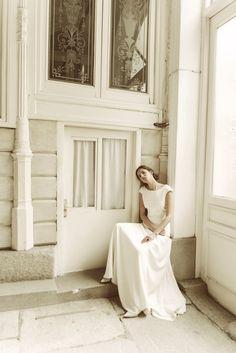 """Vestido Sonia """"Memories of Madrid"""" Campaña nueva colección vestidos de novia Beba's Closet www.bebascloset.com Foto @pipi_hormaechea Peluquería y maquillaje @reginacapdevila Joyas @beatrizpalacios_jewelry"""
