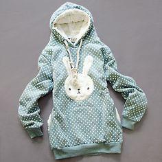 bunny sweater.