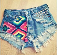 shorts rasgado tumblr - Pesquisa Google   Shorts   Pinterest ...